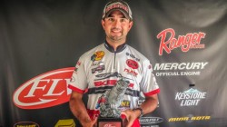 "Nick LeBrun Cowboy BFL Win #2 at Toledo Bend 2016 -- Mosley RodWorks 7'9"" Flipping Stick"