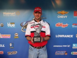 "Brandon Mosley Okie BFL Win at Broken Bow 2011 -- Mosley RodWorks 7'3"" Heavy"